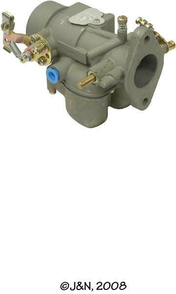 0-12708 - Carburetor, Sidedraft, Gasoline