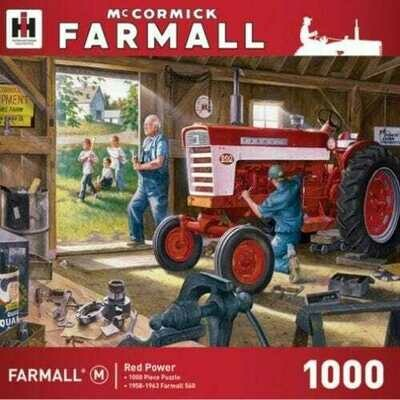 1000 Piece Puzzle - Red Power, Farmall