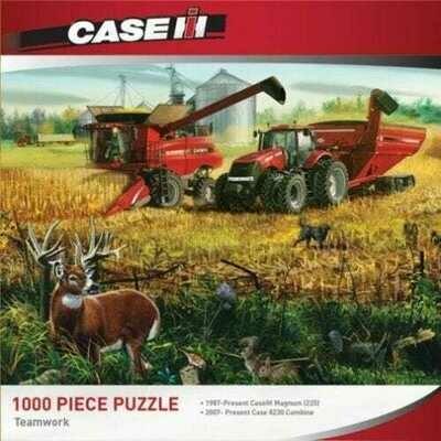 1000 Piece Puzzle - Teamwork, Case IH