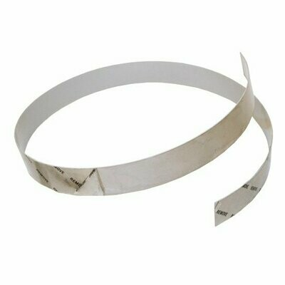 1-1/2 Inch Chrome Tape With Adhesive Back