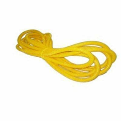 1/2 Inch Yellow Split Plastic Loom