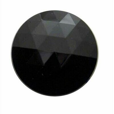 1 3/8 Inch Glass Jewel Lens For Dome Light Purple