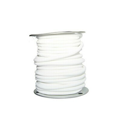 1/2 Inch White Wire Loom