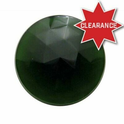 1 5/16 Inch Glass Jewel Lens For Dome Light