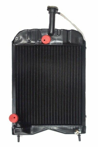 (23984) 1680547M92 Radiator with cap for Massey Ferguson 20E 20D 240 250 30E 30H