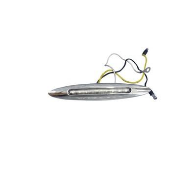1 Inch x 6 Inch Flatline Slim Marker Blue LED Light 9 Diodes