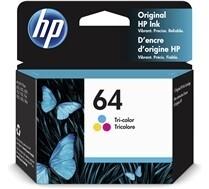 HP 64 Tri Colour