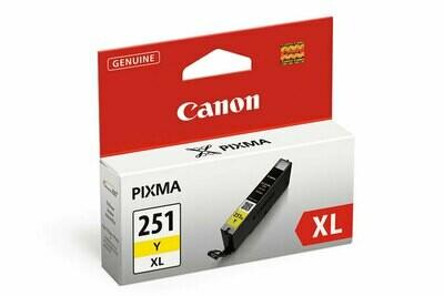 Canon 251 XL Yellow....