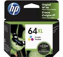 HP 64 XL Tri Colour