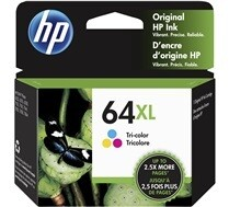 HP 64 XL Tri Colour
