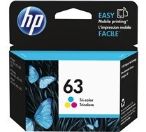 HP 63 Tri Colour