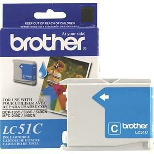 Brother LC 51 Cyan