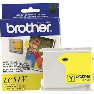Brother LC 51 Yellow