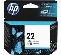 HP 22 Tri Colour