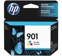 HP 901 Tri Colour