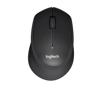 Logitech M330 Silent Plus Wireless - Black