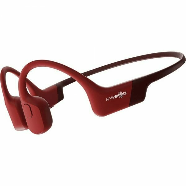Aftershokz Aeropex Bluetooth Headphone IP67 Solar Red w/Mic