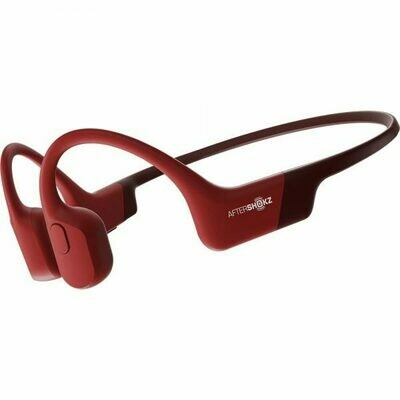 Aftershokz Aeropex Bluetooth Headphone IP67 Solar Red w/Mic