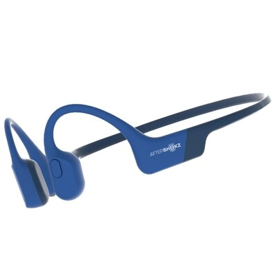 Aftershokz Aeropex Bluetooth Headphone IP67 Blue Eclipse w/Mic