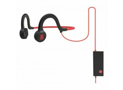 Aftershokz Sportz Titanium Wired Headphone w/Mic Red