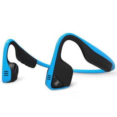 Aftershokz Titanium Bluetooth Headphone Ocean Blue w/Mic