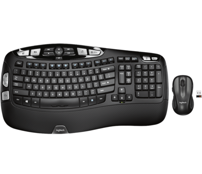 Logitech MK550 Wireless Wave Keyboard & Mouse Combo