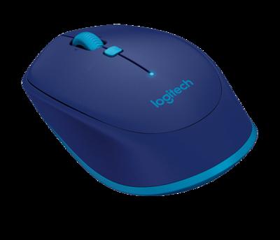 Logitech M535 Bluetooth Wireless Mouse, Blue
