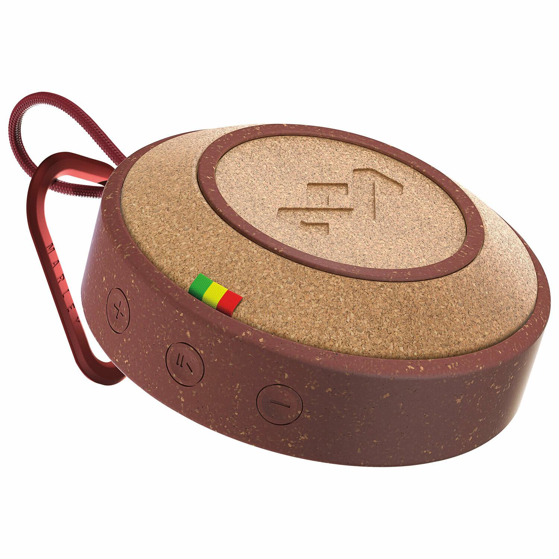 Marley No Bounds Waterproof Bluetooth Wireless Speaker - Red