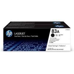 HP 83A Dual Pack Black Toner