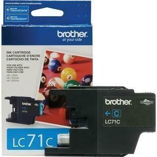 Brother LC 71 Cyan