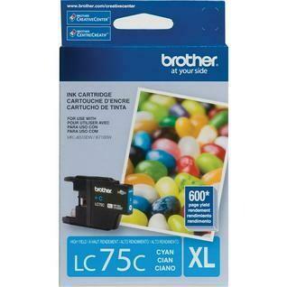 Brother LC 75XL Cyan