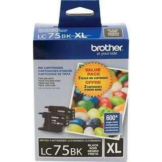Brother LC 75XL Dual Black