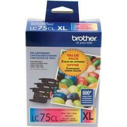 Brother LC 75XL Colors