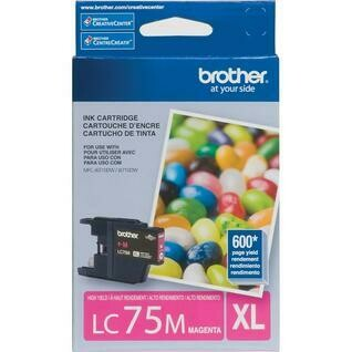 Brother LC 75XL  Magenta
