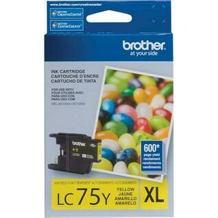 Brother LC 75XL  Yellow