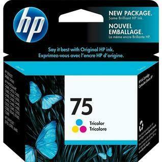 HP 75 Tri Colour