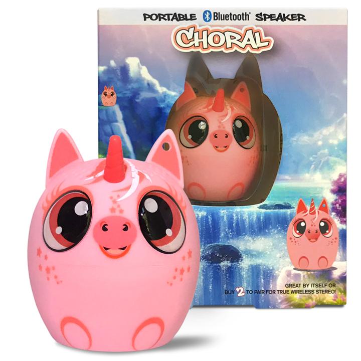 My Audio Pet Bluetooth Speaker Unicorn Coral – Choral
