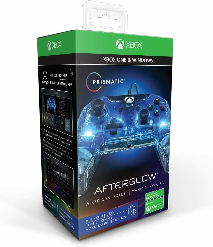 Xbox One & Windows 10 Wired Controller -Prismatic - Afterglow