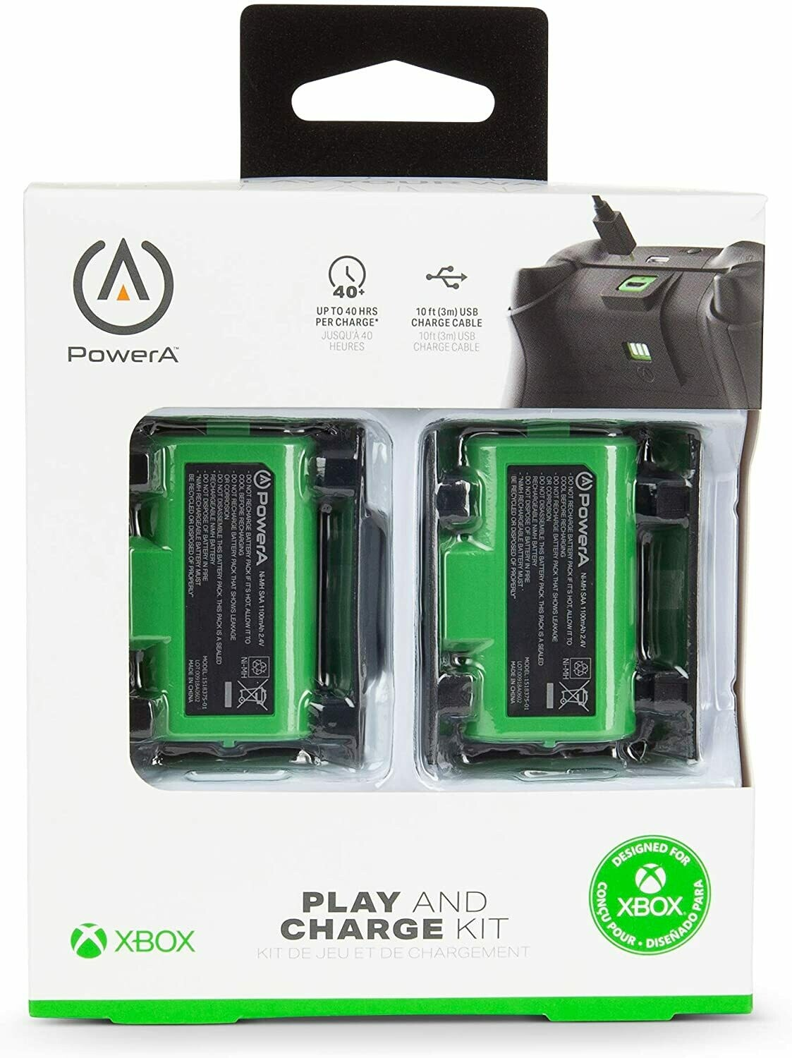 Xbox Play and Charge Kit - PowerA