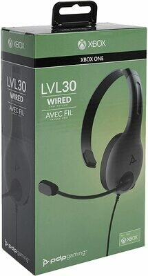 Xbox One LVL30 Wired Chat Headset