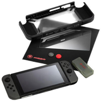SNAKEBYTE (Nintendo Switch) Tough Kit - Black