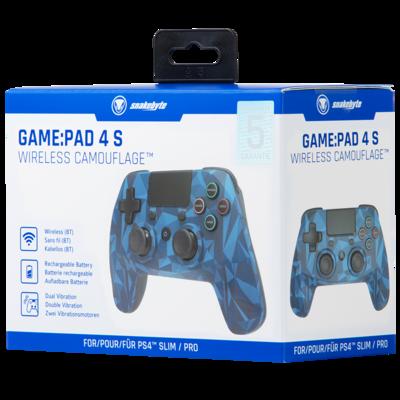 SNAKEBYTE (PS4) Wireless Controller - Blue Camo