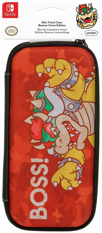 Nintendo Switch PDP - Bowser Slim Travel Case