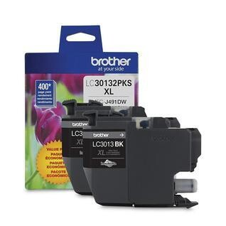 Brother LC 3013 2 Pack High Yield Black