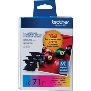 Brother LC 71 Color Pack