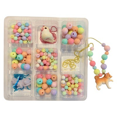 Deluxe Pop Cutie Necklace DIY Box (Make your own necklaces)