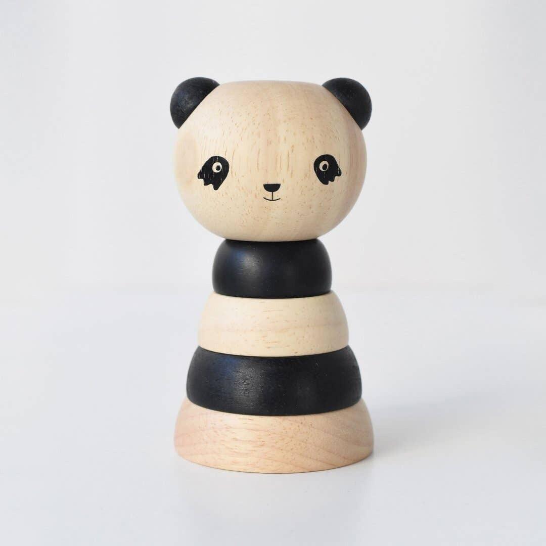 Wood Stacker - Panda