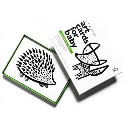 Woodland Art Cards
