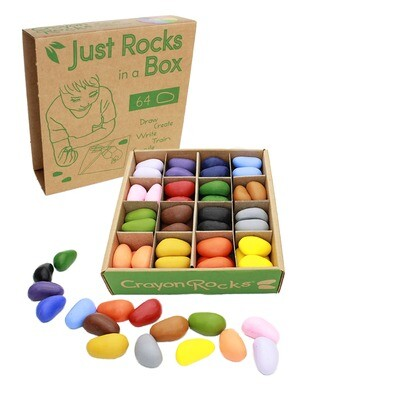 Just Rocks in a Box 16 Colors