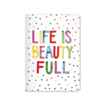 Jot It Notebook - Life is Beautiful